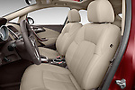 Front seat view of 2017 Buick Verano Leather 4 Door Sedan Front Seat  car photos