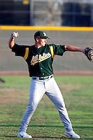 Josh Leyland - AZL Athletics - 2009 Arizona League.Photo by:  Bill Mitchell/Four Seam Images..