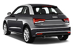 Car pictures of rear three quarter view of 2016 Audi A1 Sport 3 Door Hatchback Angular Rear