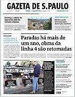 30.12.2016: Jornal Gazeta de S.Paulo - Chacina de Osasco completa um ano. (Foto: Fábio Vieira/FotoRua)