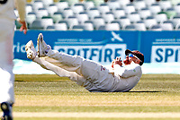 Rob Jones of Lancashire spills a catch off the bowling of Matt Parkinson during Kent CCC vs Lancashire CCC, LV Insurance County Championship Group 3 Cricket at The Spitfire Ground on 24th April 2021