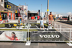 Preparation for the teams arrival to the Volvo Ocean Race Leg 3 Sanya-Auckland on February 27, 2015 in Auckland, New Zealand. The Volvo Ocean Race 2014-15 is the 12th running of this ocean marathon. Starting from Alicante in Spain on October 11, 2014, the route, spanning some 39,379 nautical miles, visits 11 ports in 11 countries (Spain, South Africa, United Arab Emirates, China, New Zealand, Brazil, United States, Portugal, France, the Netherlands and Sweden) over nine months. The Volvo Ocean Race is the world's premier ocean race for professional racing crews. Photo by Xaume Olleros / Power Sport Images