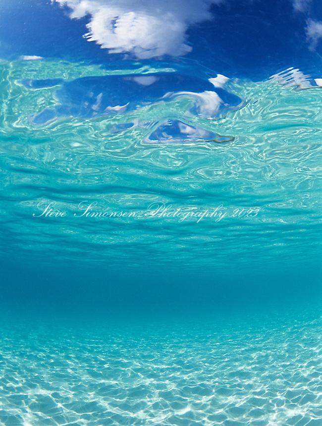 Clear Caribbean Water