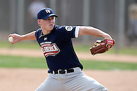 January 16, 2010:  Bryan Brickhouse (Woodlands, TX) of the Baseball Factory American Team during the 2010 Under Armour Pre-Season All-America Tournament at Kino Sports Complex in Tucson, AZ.  Photo By Mike Janes/Four Seam Images