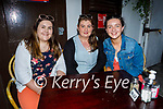 Enjoying the evening in the Grand Hotel on Sunday, l to r: Emma O'Driscoll, Aoife Thompson and Siobhan O'Sullivan.