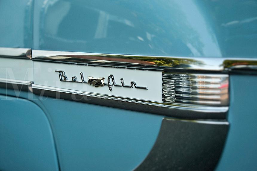 Chevrolet Bel Air detail.