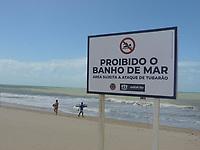 01/08/2021 - BANHO DE MAR É PROIBIDO EM PRAIA DE PERNAMBUCO