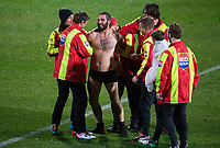A pitch invader during the 2021 Super Rugby Aotearoa final between the Crusaders and Chiefs at Orangetheory Stadium in Christchurch, New Zealand on Saturday, 8 May 2021. Photo: Joe Johnson / lintottphoto.co.nz