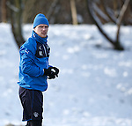 Marius Zaliukas about to launch a snowball at me