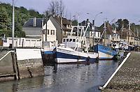 - Normandy, sites of allied landing of June 1944, the Port-En-Bassin harbour....- Normandia, i luoghi degli sbarchi alleati del giugno 1944, il porto di Port-En-Bassin