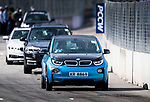 BMW cars participate in the E-Race Tournament during the FIA Formula E Hong Kong E-Prix Round 1 at the Central Harbourfront Circuit on 02 December 2017 in Hong Kong, Hong Kong. Photo by Marcio Rodrigo Machado / Power Sport Images
