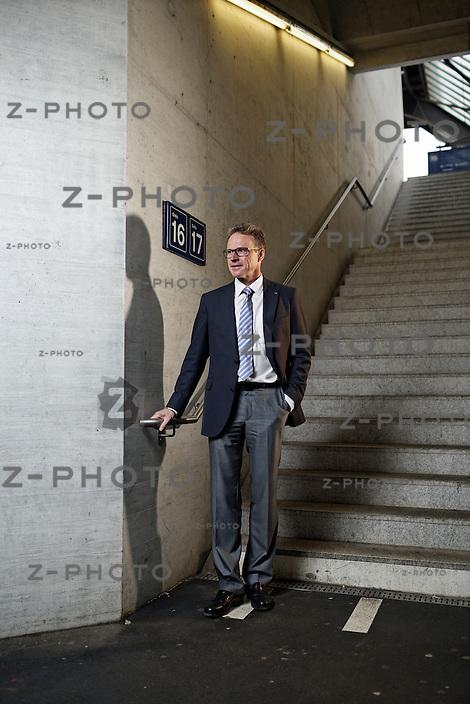 Portrait und Interview mit Andreas Meyer, CEO SBB in Zürich am 2. Mai 2013..Copyright © Zvonimir Pisonic