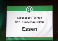 Austragungsort fuer den DFB Bundestag 2010: Essen<br /> 39. Ordentlicher DFB-Bundestag in der Rheingoldhalle<br /> *** Local Caption *** Foto ist honorarpflichtig! zzgl. gesetzl. MwSt. Es gelten ausschließlich unsere unter <br /> <br /> Auf Anfrage in hoeherer Qualitaet/Aufloesung. Belegexemplar an: Marc Schueler, Am Ziegelfalltor 4, 64625 Bensheim, Tel. +49 (0) 6251 86 96 134, www.gameday-mediaservices.de. Email: marc.schueler@gameday-mediaservices.de, Bankverbindung: Volksbank Bergstrasse, Kto.: 151297, BLZ: 50960101