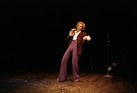 Daniel Lemire<br /> en spectacle, 17 juillet 1983<br /> <br />  - PHOTO D'ARCHIVE :  Agence Quebec Presse