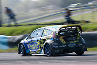 Derek Tohill, Ford Fiesta MkVII, BRX Supercars into Chessons on his way to Supercar victory during the 5 Nations BRX Championship at Lydden Hill Race Circuit on 31st May 2021