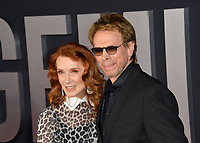 "LOS ANGELES, USA. October 07, 2019: Jerry Bruckheimer & Linda Bruckheimer at the premiere of ""Gemini Man"" at the TCL Chinese Theatre, Hollywood.<br /> Picture: Paul Smith/Featureflash"