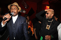 NEW YORK, NY- SEPTEMBER 12: Super Cat and Swizz Beatz pictured at Swizz Beatz Surprise Birthday Party at Little Sister in New York City on September 12, 2021. Credit: Walik Goshorn/MediaPunch