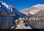Convict Lake, Mount Morrison, Mount Laurel, Mammoth Lakes area, Inyo National Forest, California