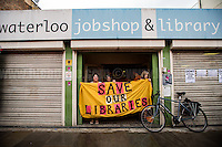 """22.07.2016 - """"The Big Unfriendly Closure of Waterloo Library"""""""