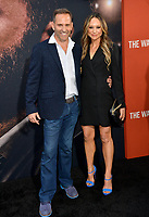 """LOS ANGELES, CA: 01, 2020: Chris Bruno & Guest at the world premiere of """"The Way Back"""" at the Regal LA Live.<br /> Picture: Paul Smith/Featureflash"""