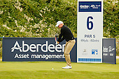 James MORRISON (ENG) during the third fourth playoff  of the 2016 Aberdeen Asset Management Paul Lawrie Matchplay played over the Fidra Links at Archerfield, East Lothian from 4th to 7th August 2016:  Picture Stuart Adams, www.golftourimages.com: 07/08/2016