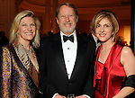 From left: Kelly Reynolds, Harrison Williams and Lynn Goode at the Imprint Poets & Writers Ball at the Houston Country Club  Feb 18,2012. (Dave Rossman/For the Chronicle)