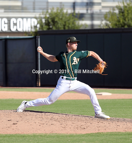 Nathan Patterson - 2019 AIL Athletics (Bill Mitchell)