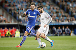 Real Madrid´s Isco and Schakle 04 Hoger during Champions League soccer match at Santiago Bernabeu stadium in Madrid, Spain. March, 10, 2015. (ALTERPHOTOS/Caro Marin)