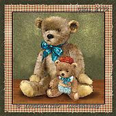 GIORDANO, CUTE ANIMALS, LUSTIGE TIERE, ANIMALITOS DIVERTIDOS, Teddies, paintings+++++,USGI2772,#AC# teddy bears
