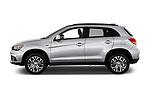 Car driver side profile view of a 2019 Mitsubishi ASX Invite Style 5 Door SUV