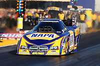 Jul. 26, 2013; Sonoma, CA, USA: NHRA funny car driver Ron Capps during qualifying for the Sonoma Nationals at Sonoma Raceway. Mandatory Credit: Mark J. Rebilas-