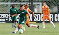 Kendall Fletcher #24, Rosana..Saint Louis Athletica defeated Sky Blue F.C 1-0, at Anheuser-Busch Soccer Park, Fenton, MO.