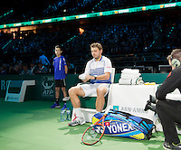 Februari 13, 2015, Netherlands, Rotterdam, Ahoy, ABN AMRO World Tennis Tournament, Stan Wawrinka (SUI)<br /> Photo: Tennisimages/Henk Koster