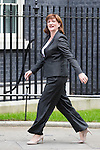 © Joel Goodman - 07973 332324 . 11/05/2015 . London , UK . NICKY MORGAN arrives at 10 Downing Street this morning (11th May 2015) . Photo credit : Joel Goodman