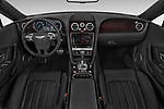 Stock photo of straight dashboard view of 2015 Bentley Continental GTC  Base 2 Door Convertible