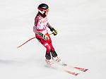 Erin Latimer, PyeongChang 2018 - Para Alpine Skiing // Ski para-alpin.<br /> Erin Latimer skis in the women's standing downhill // Erin Latimer skis en descente debout femmes. 10/03/2018.