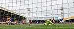 07.04.2019 Motherwell v Rangers: Scott Arfield scores his third goal