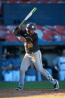 Bethune-Cookman Wildcats first baseman Danny Rodriguez (30) at bat during a game against the Wisconsin-Milwaukee Panthers on February 26, 2016 at Chain of Lakes Stadium in Winter Haven, Florida.  Wisconsin-Milwaukee defeated Bethune-Cookman 11-0.  (Mike Janes/Four Seam Images)