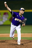 Phillip Tolman (25) of the Western Illinois Leathernecks during a game vs. the Missouri State Bears at Hammons Field in Springfield, Missouri;  March 18, 2011.  Photo By David Welker/Four Seam Images
