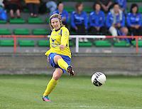 Club Brugge Dames - STVV Sint Truidense VV : Annelies Menten.foto DAVID CATRY / Nikonpro.be
