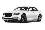 Stock pictures of low aggressive front three quarter view of 2021 Chrysler 300 S 4 Door Sedan Low Aggressive