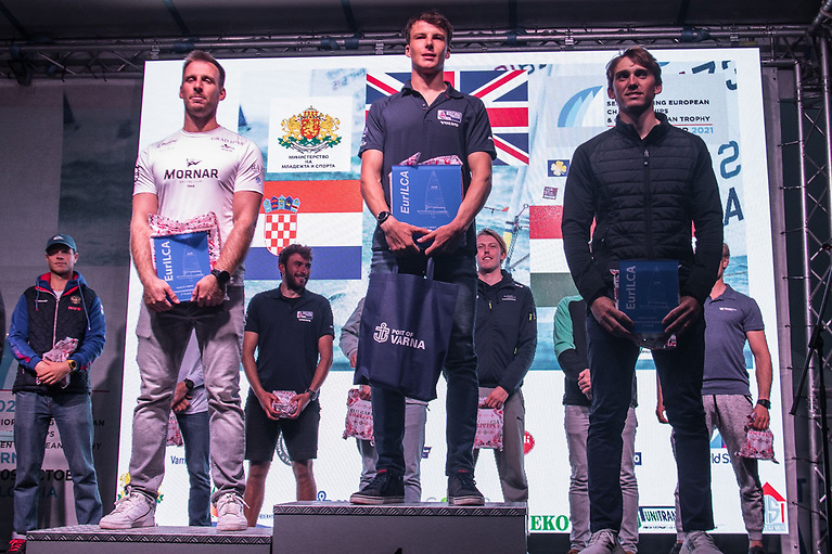 Michael Beckett, 26, from Solva in Pembrokeshire has become the third Brit in as many years to claim the ILCA 7/Laser class European title