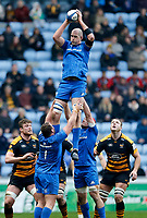 Photo: Richard Lane/Richard Lane Photography. Wasps v Leinster.  European Rugby Champions Cup. 20/01/2019. Leinster's Devin Toner wins a lineout.