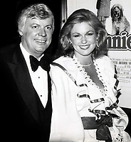 John Brown and wife Phyllis George 1982<br /> Photo By John Barrett/PHOTOlink