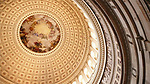 The Rotunda, Dome & The United States Capitol in .Washington, D.C.