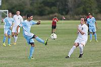 Lakewood Ranch, FL - Monday, December 1, 2014: U.S. Soccer U-15/16 2014 Development Academy Winter Showcase and Nike International Friendlies at Premier Sports Campus.