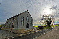 The chapel in Hermon in Carmarthenshire, Wales, UK. Wednesday 31 October 2018