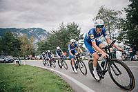Team Quickstep Floors<br /> <br /> UCI MEN'S TEAM TIME TRIAL<br /> Ötztal to Innsbruck: 62.8 km<br /> <br /> UCI 2018 Road World Championships<br /> Innsbruck - Tirol / Austria