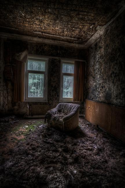 Old forgotten hotel