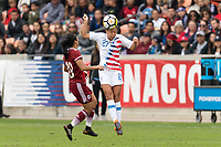 Houston, TX - Sunday April 08, 2018: Tegan McGrady during an International Friendly soccer match between the USWNT and Mexico at BBVA Compass Stadium.